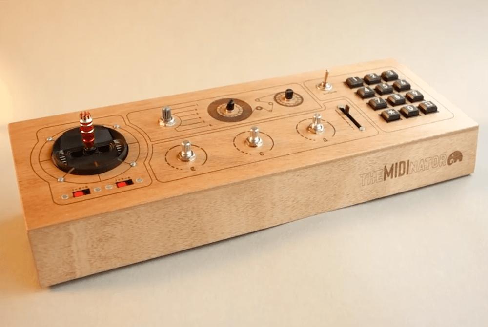 theMIDInator is a marvelous MIDI controller
