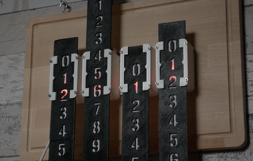 Stepper Clock 1 1 - Electrogeek