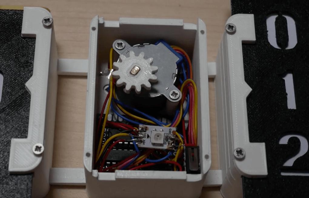 Stepper Clock - Electrogeek