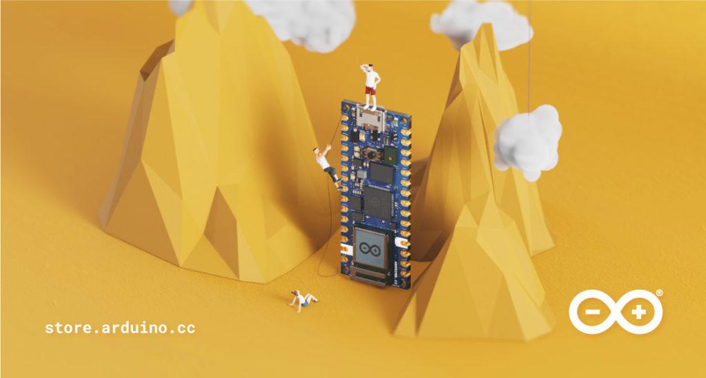 The Arduino Nano RP2040 Connect mountain climbing
