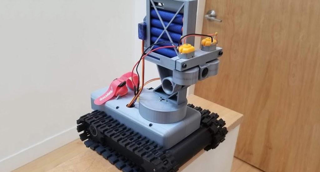 Arduino Nerf Tank