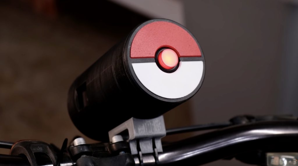 Turn your bicycle into a Pokebike with DJ Harrigan's MKR Zero device