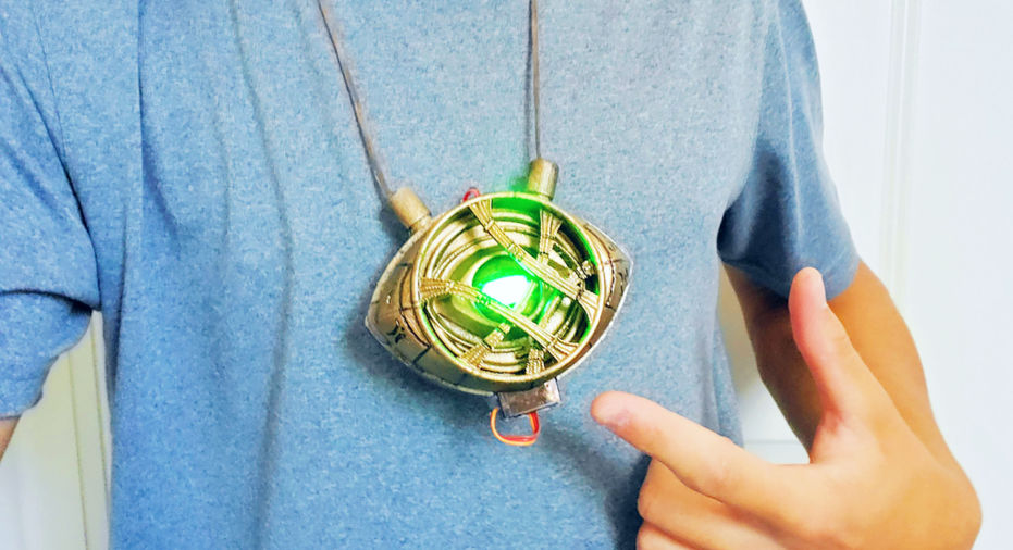 Eye of Agamotto with Arduino Every
